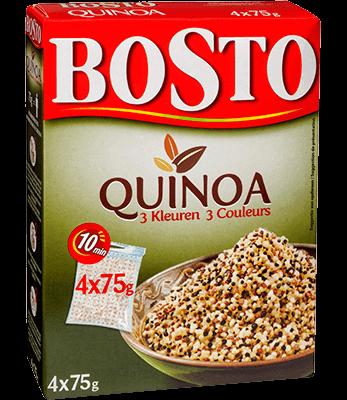 Bosto - verpakking Quinoa 3 kleuren